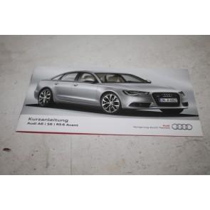 Beknopte handleiding duitstalig Audi A6, S6, Allroad, RS6 Bj 11-14