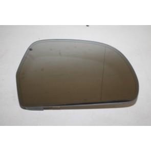 Spiegelglas (groothoek) met draagplaat rechts div. Audi modellen Bj 07-heden