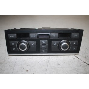 Climatronic paneel zwart ENGELS Audi A6, S6, RS6 Bj 07-11