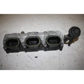 Inlaatspruitstuk onderstuk rechts 3.0 V6 TFSI benz. Audi A4, S4, A5, S5, A6, A7, A8, Q5, Q7 Bj 07-17