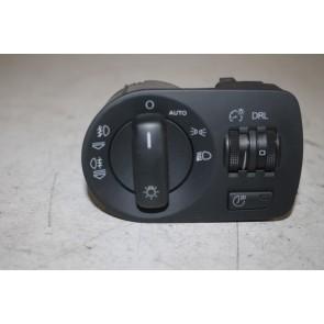 Multischakelaar verlichting zwart Audi A3, S3, TT, TTS Bj 04-10