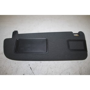 Zonneklep links zwart Audi A6, S6, RS6 Bj 05-11