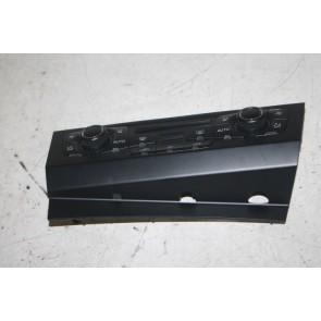 Climatronic paneel chroomglans/zwart Audi A4, S4, A5, S5, RS5, Q5 Bj 08-12