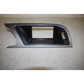 Afdekking dashboard staalgrijs Audi A5, S5, Bj 08-17