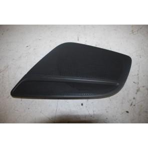 Luidsprekerrooster portier LV zwart Audi A5, S5, RS5 Coupe, Cabriolet Bj 08-17
