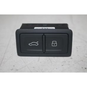 Knop elektrische klepbediening zwart div. Audi modellen Bj 12-heden