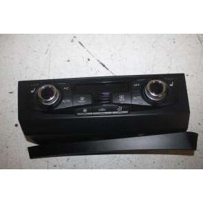 Climatronic paneel chroomglans/zwart ENGELS Audi A4, S4, RS4, A5, S5, RS5, Q5, SQ5 Bj 12-17