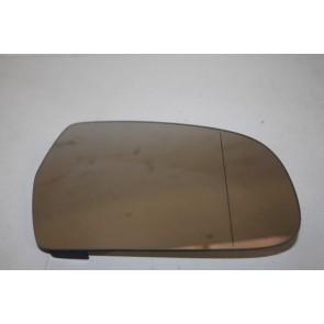 Spiegelglas (groothoek) met draagplaat rechts div. Audi modellen Bj 08-16