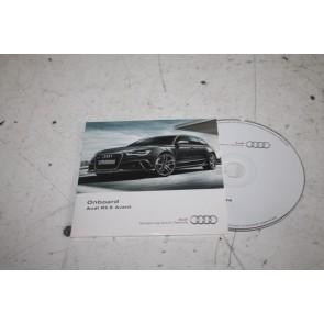 Cd-rom bedieningshandleiding duitstalig Audi RS6 Bj 13-18
