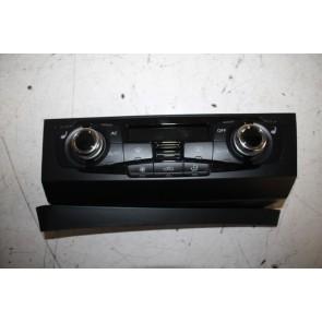 Climatronic paneel zwart Audi A4, S4, RS4, A5, S5, RS5, Q5 Bj 10-18