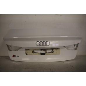 Achterklep ibiswit Audi A3, S3, RS3 Limousine Bj 13-heden