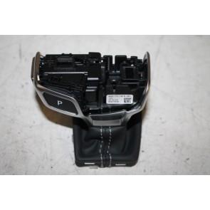 Onderstuk keuzehendelgreep zwart/rotgrijs Audi A4, S4, RS4, A5, S5, RS5 Bj 16-heden