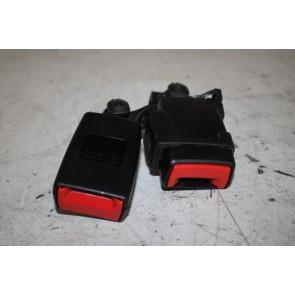 Dubbel gordelslot LA zwart Audi A6, S6, RS6, Q3, RSQ3 Bj 11-18
