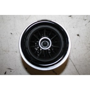 Luchtrooster zwart Audi A3, S3, Cabrio, RS3 Bj 13-heden