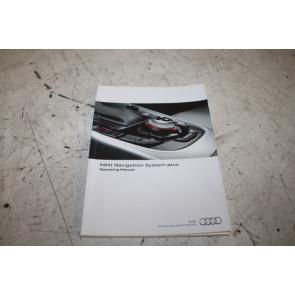 Instructieboekje MMI engelstalig Audi A4, S4, RS4, A5, S5, RS5, Q5, SQ5 Bj 08-17