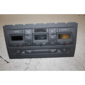Climatronic paneel zwart Audi A4, S4, RS4 Bj 03-09