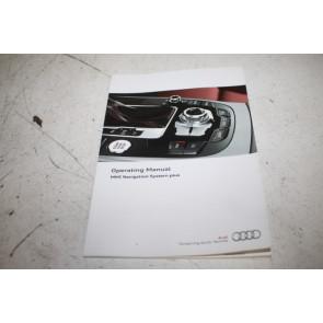Instructieboekje MMI engelstalig Audi A4, S4, RS4, A5, S5, RS5, Q5, SQ5 Bj 12-17