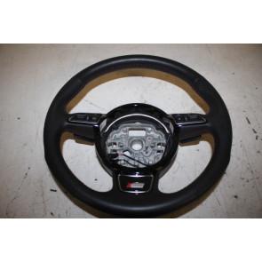 Multifunctiesportstuurwiel leer zwart/misanorood Audi A1, A6, A7 Bj 11-18
