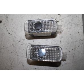 1 set led-instapverlichting met smalle steker div. Audi modellen Bj 10-heden