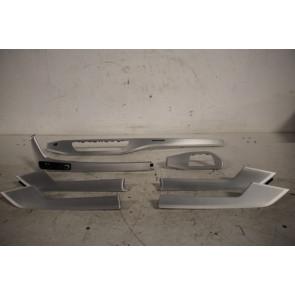 Set interieurlijsten alu-geborsteld Audi A4, S4 Bj 16-heden