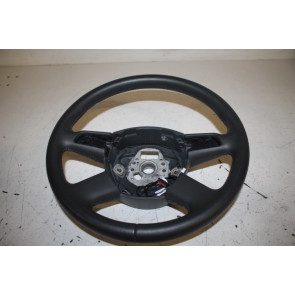 Multifunctiestuurwiel leer verwarmbaar zwart Audi A6, S6, A8, S8 Bj 03-08