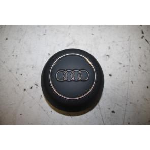 Stuur airbag rond V6 motoren zwart Audi A4, S4, RS4, A5, S5, RS5 Bj 16-heden