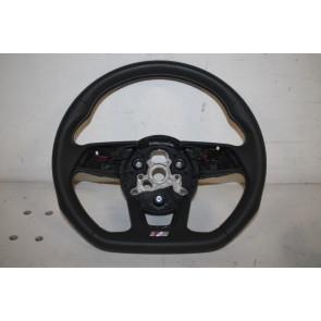 Multifunctiesportstuurwiel afgevlakt leer zwart/rotsgrijs Audi A4, S4, A5, S5 Bj 16-heden