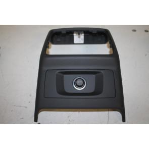 Afdekking middenconsole zwart Audi A4, S4, RS4, A5, S5, RS5 Bj 16-heden