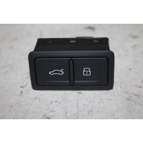 Knop elektrische klepbediening zwart div. Audi modellen Bj 16-heden