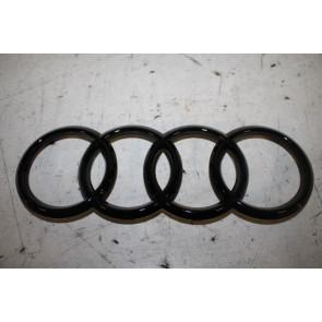 Audi logo grille zwart-glanzend div. Audi modellen Bj 12-heden