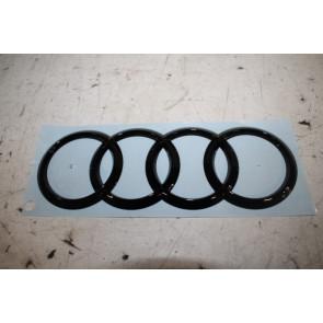 Audi logo achterklep zwart-glanzend Audi A4, S4, RS4 Avant, A6, S6 Avant Bj 16-heden