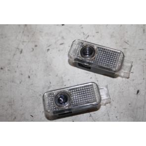 Set S-line portier instapverlichting div. Audi modellen Bj 07-heden