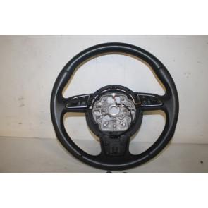 Multifunctiesportstuurwiel leer zwart Audi A1, A6, A7 Bj 11-18