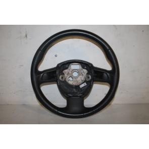 Multifuntiesportstuurwiel 3-spaaks leer zwart Audi A4, A5 Bj 08-12