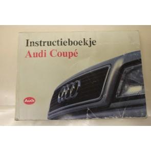 Instructieboekje nederlandstalig Audi Coupe Bj 91-95